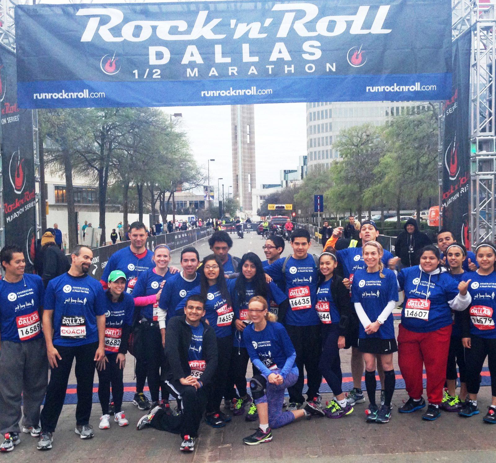 Rock 'n' Roll Dallas Half Marathon Race Coverage ...